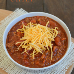 Sweet and Spicy Dr. Pepper Chili
