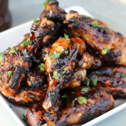 Sweet and Spicy Grilled Chicken Drumsticks