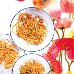 Sweet and Spicy Peanut Noodles