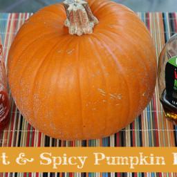 Sweet and Spicy Pumpkin Fries
