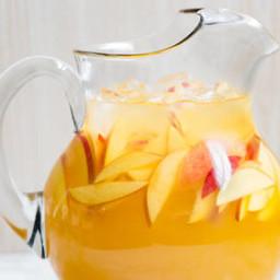 Sweet Bourbon Peach Lemonade
