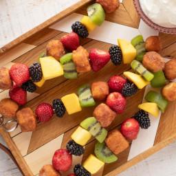 Sweet Breakfast Kabobs