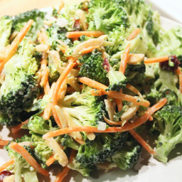 Sweet Broccoli and Carrot Slow