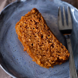 Sweet carrot bread