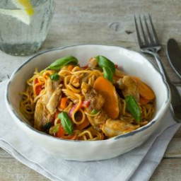 Sweet Chilli Chicken Noodle Stir Fry