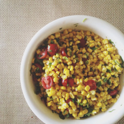 Sweet Corn & Tomato Salad