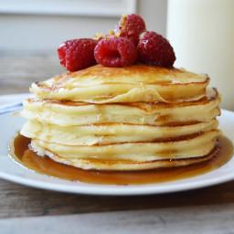 Sweet Cream Ricotta Pancakes