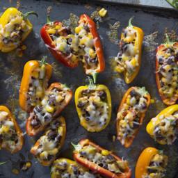 Sweet Mini Bell Pepper Poppers
