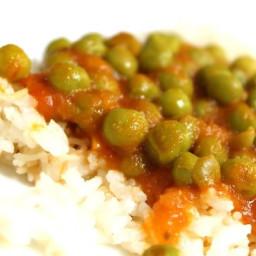 Sweet Peas with Tomato Sauce