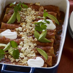 Sweet Potato & Black Bean Enchiladas