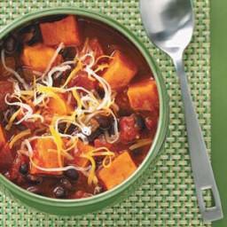 Sweet Potato and Black Bean Chili Recipe