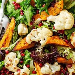 Sweet Potato-and-Cauliflower Salad