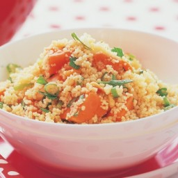 Sweet potato and couscous salad
