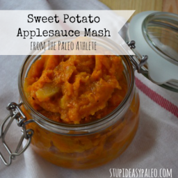 Sweet Potato Applesauce Mash Recipe