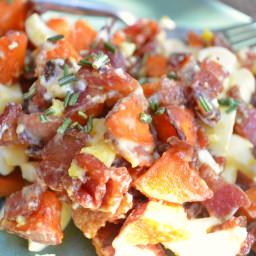 Sweet Potato, Bacon and Egg Salad