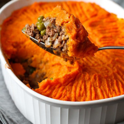 Sweet Potato Bison Shepherd's Pie Recipe