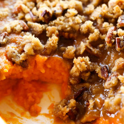 Sweet Potato Casserole {Thanksgiving Side Dish}