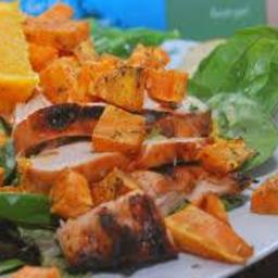 Paleo - Sweet Potato Chicken Salad