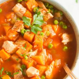 Sweet Potato Chicken Soup Recipe