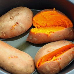 Sweet Potato in Rice Cooker