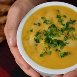Sweet Potato Lima Bean Soup