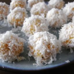 Sweet Potato Onde Onde (Sweet Potato Glutinous Rice Balls)