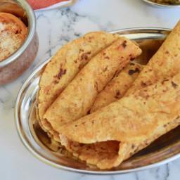 Sweet Potato Paratha