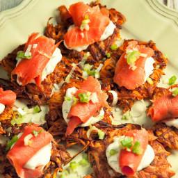 Sweet Potato Rosti With Smoked Salmon Recipe