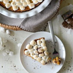 Sweet Potato S'mores Pie