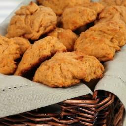 Sweet Potato-Spelt Biscuits
