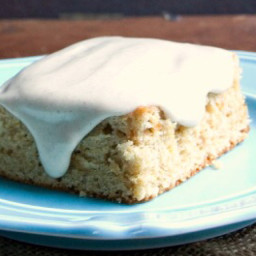 Sweet Potato Spice Cake with Maple Cinnamon Cream Cheese Frosting