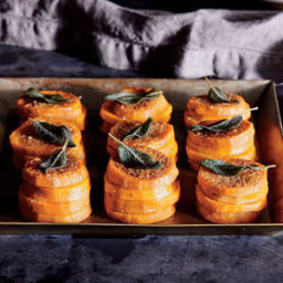 Sweet Potato Stacks with Sage Browned Butter