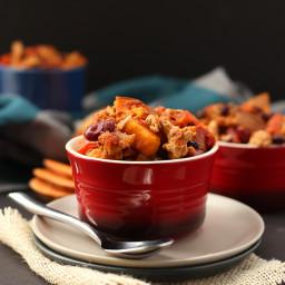 Sweet Potato Turkey Chili