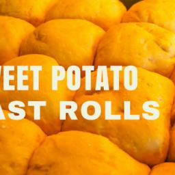 Sweet Potato Yeast Rolls
