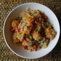 Sweet Quinoa and Millet Salad