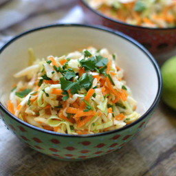 Sweet Sesame-Lime Cabbage Salad