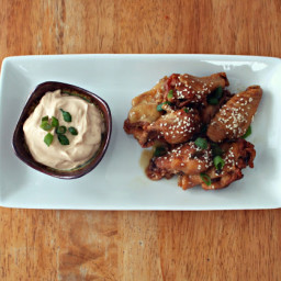 Sweet Sesame Wings (Crockpot)