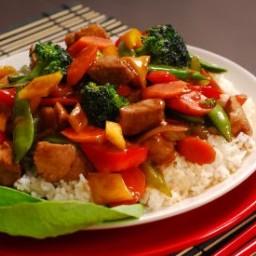 Sweet & Sour Pork Stir-Fry