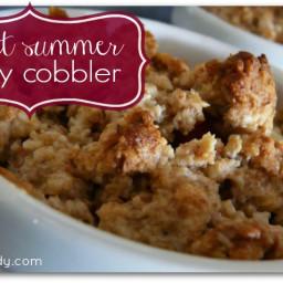 Sweet Summer Berry Cobbler Recipe