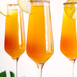 Sweet Sunrise Mimosas