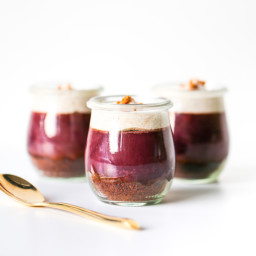 Sweet Talkin' Purple Potato Pie in a Jar