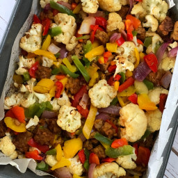 Sweet Tamari Tempeh with Roasted Vegetables from Vegan Meal Prep