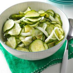 Sweet-Tart Cucumber Salad Recipe