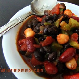 Sweet Vegetarian Chili