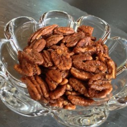 Sweet and Savory Pecans