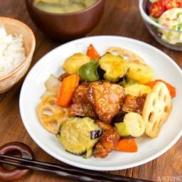 Sweet and Sour Chicken (Ootoya Tori Kurozu-An)