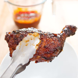 Sweet and Tangy Barbecued Chicken
