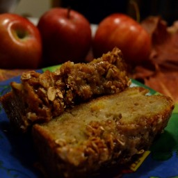 Sweet Apple Cinnamon Quick Bread