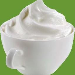 Sweetened Whipped Cream Recipe