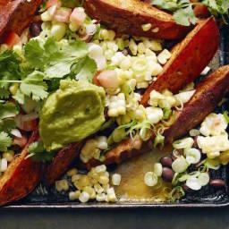 Sweetpotato Nachos